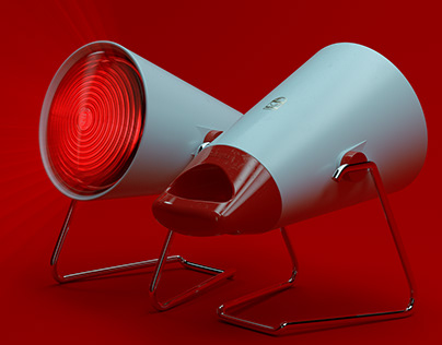 ▼▲ Once In A While Renders № 31 Philips Heat Lamp