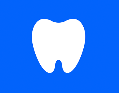 Minimal Tooth Pictogram & Colors Design