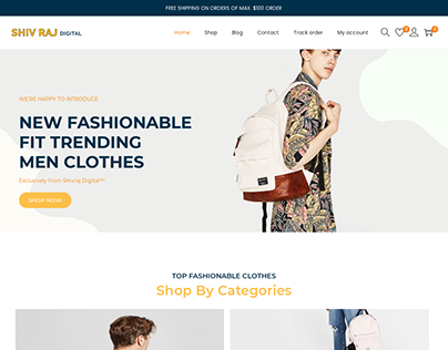 Simple but dynamic ecommerce website