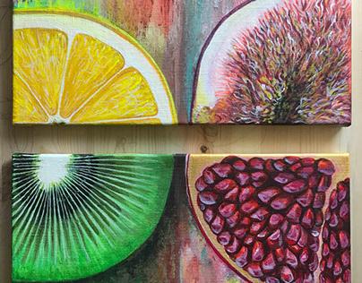 Fruits dynamics