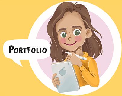 Portfolio illustrations 2020