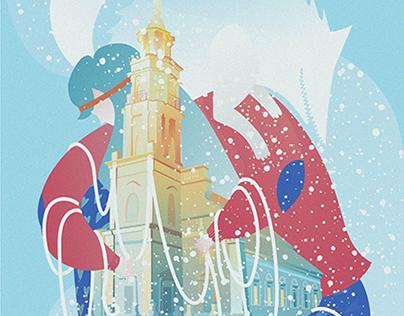 Į Kauną traukia kalėdos!