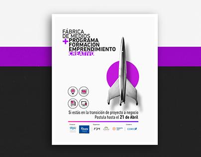 Programa Formación Emprendimiento Creativo