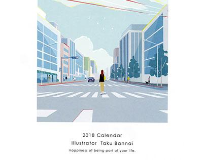 ITUCHU 2018 calendar
