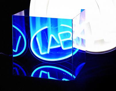 naive blue LAB