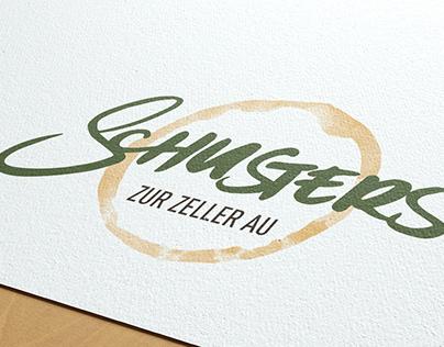 Corporate Design für Schusters Zur Zeller Au