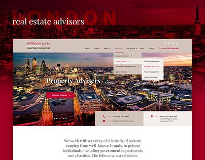 London real estate advisors website