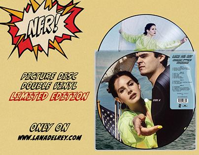 Lana Del Rey - NFR! [Picture Disc - Double Vinyl]