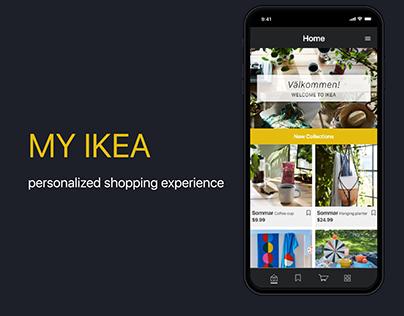 IKEA mobile app redesign