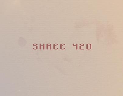 Film Title Design - Shree 420
