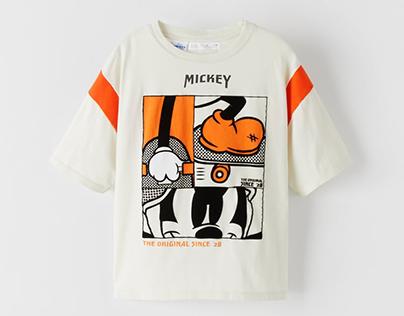 MICKEY MOUSE © DISNEY T-SHIRT - ZARA BOY