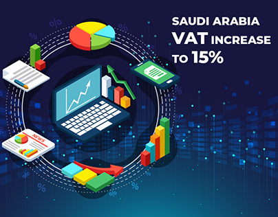 Infographics - Saudi Arabia VAT increases to 15%