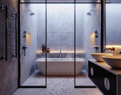 CGI - Romance on the bathroom