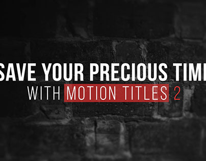 Motion Titles 2 FCPX & Motion
