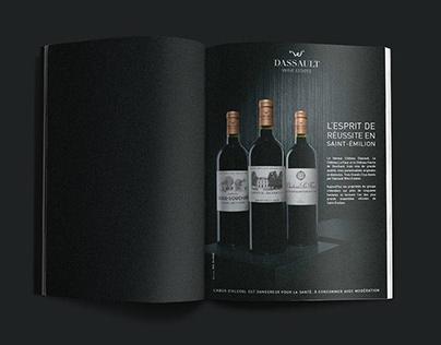 Dassault Wine Estates - Identité visuelle