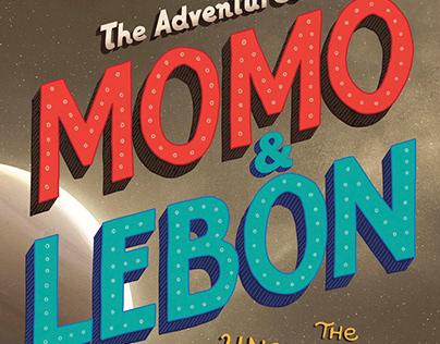 Momo & Lebon book cover design