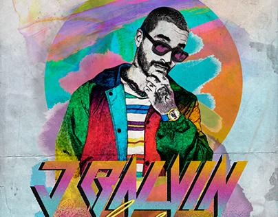 "Poster x JBalvin ""Colores"" Album"