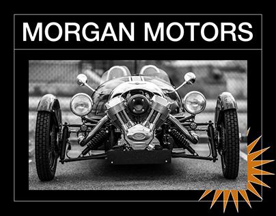 Morgan Motor Company - Website redesign