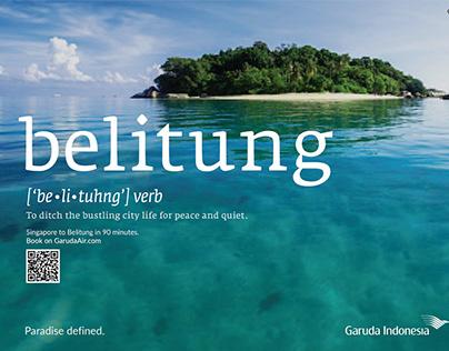 Launch campaign for Garuda Indonesia