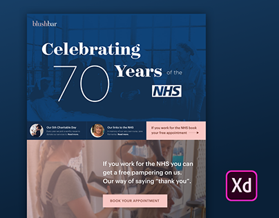 Celebrating 70 Years of the NHS with Adobe XD