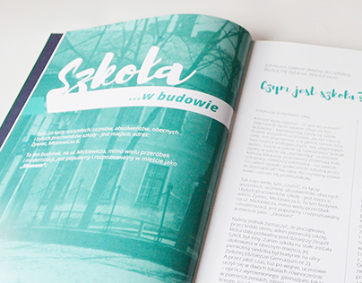 Book Design for 80th anniversary of ZSE-G in Żywiec,