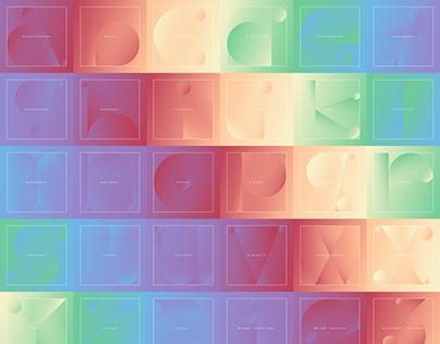 36 Days Of Type 2017 - Musical Alphabet