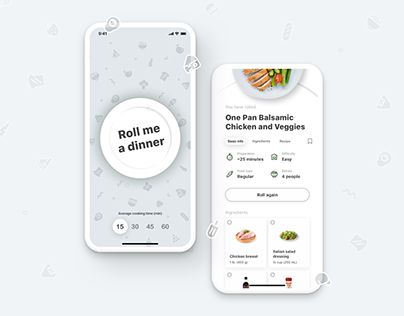 DinnerRoller - Where we cook an idea for you