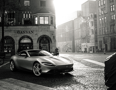 Ferrari Roma in Amsterdam