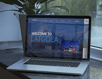 UI UX Welcome Latgola