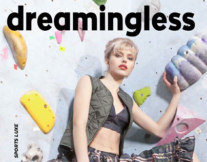 Climbing inside colors - Dreamingless Sport Luxe Issue