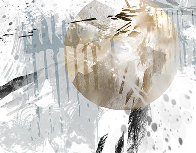 Examples of music album cover design.