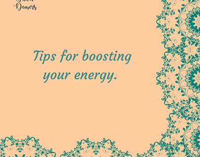 Tips for Boosting Your Energy | Dawn Demers