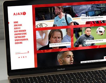 Ajax 1 Restyling website