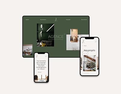 Agence 25 - Architecte d'intérieur - Website