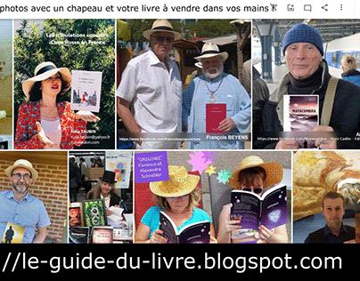 Jeu pub chapeau livre du groupe FB LE GUIDE DU LIVRE