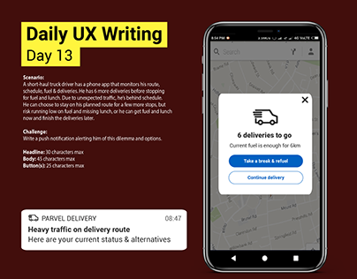 Daily UX Writing Challenge: Day 13