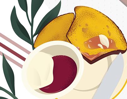 Griddled Corn Muffins