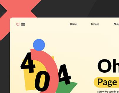 404 page & illustration kit