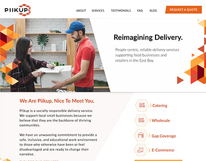 PIIKUP Website