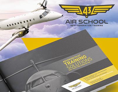 43 Air School Brochure design
