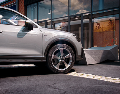 Audi Q2 Visualisation
