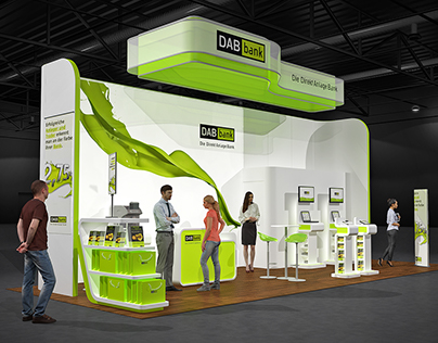 DAB Exhibition Stand