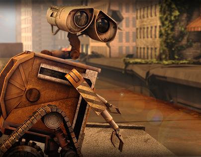 Wall-E Modeling&Animation