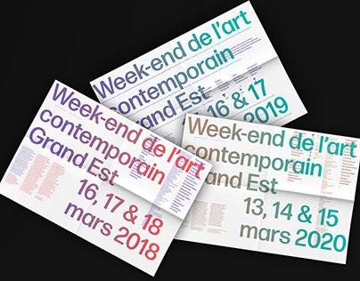 Week-end de l'art contemporain Grand Est