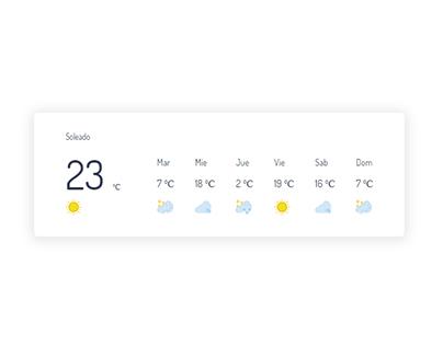 Widget Weather