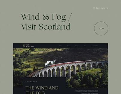 Visit Scotland / Fog & Wind 99+ Days in the lab