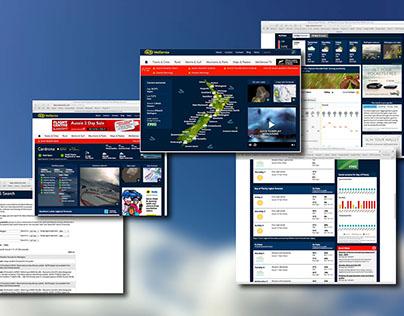 2012-2014 MetService.com website