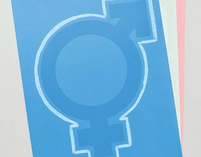 Transgender Visibility Social Awareness Poster Series