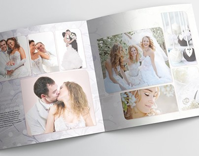 Wedding Photobook Template - 30x30cm