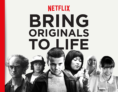 NETFLIX - Bring Originals To Life [We Are Social]